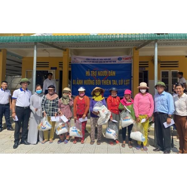 HBT Việt Nam trao 600 suất quà ủng hộ đồng bào 3 tỉnh miền Trung