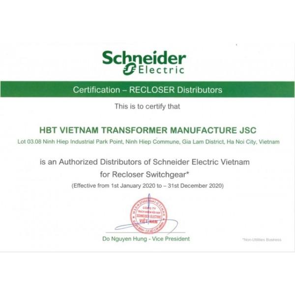 HBT Việt Nam trở thành đại lý chính thức của Schneider Electric