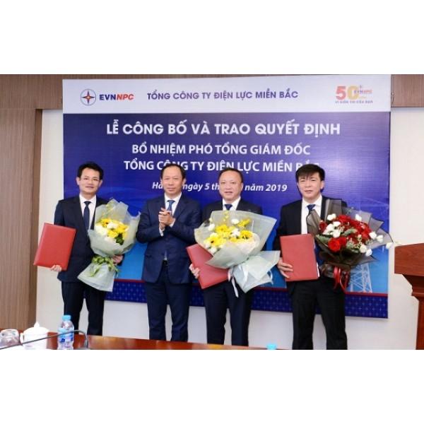 EVNNPC: Lễ Công bố và trao Quyết định bổ nhiệm Phó Tổng Giám đốc Tổng công ty Điện lực miền Bắc