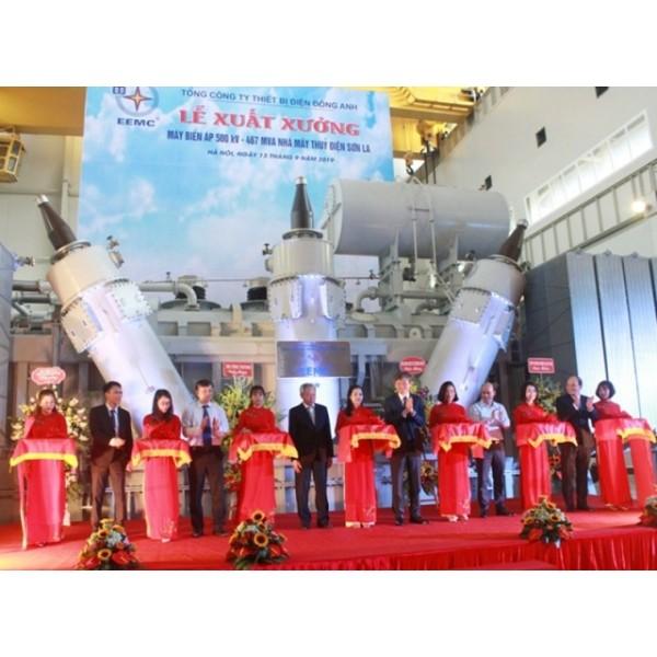 Xuất xưởng máy biến áp 500kV đầu tiên tại Việt Nam