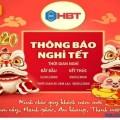 HBT Việt Nam thông báo lịch nghỉ Tết Nguyên đán Canh Tý 2020