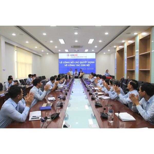 EVNCPC công bố các quyết định về công tác cán bộ